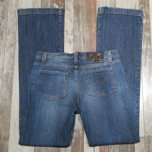Versace Jean's Couture straight leg Jean's 28